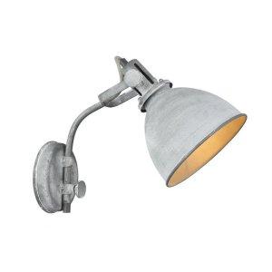 Wandlamp grijs Sheffield W3056.19