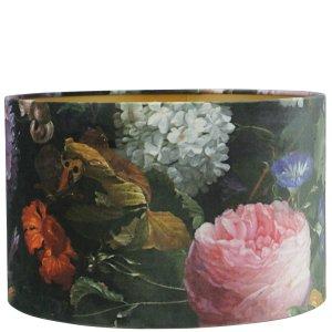 Lampenkap bloemenprint velvet 45x30