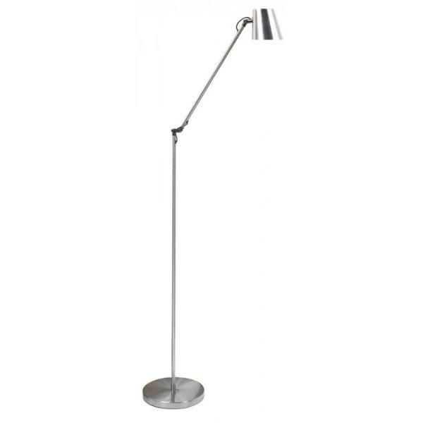 Vloerlamp staal Metallic 121cm
