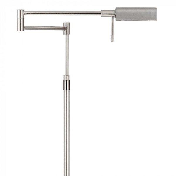 Vloerlamp staal New Bari arm