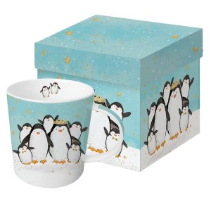Cadeau mok Penguin family 350ml
