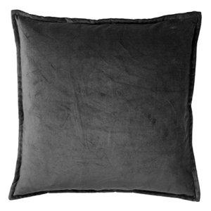 Sierkussen grijs Charcoal caith 50x50