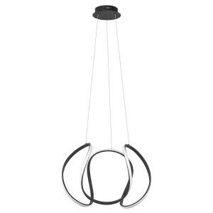 Hanglamp zwart Kyra 70cm