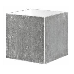 Wandlamp zilver Square 10cm