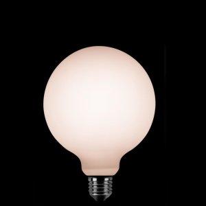 Lichtbron LED Globe 125mm opaal 8W dimbaar