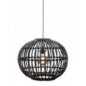 Hanglamp zwart Ruby 47cm