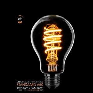 Lichtbron LED Standaard spiraal helder dimtone