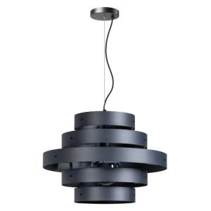 Hanglamp antraciet Blagoon 5 rings