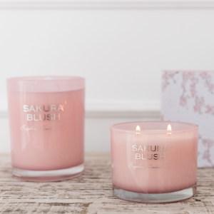 J-line Geurkaars Sakura roze sfeer