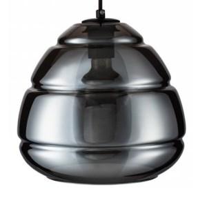 Lampenkap glas smoke Belmond 26cm