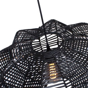 Hanglamp zwart Hauwert 50cm detail
