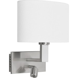 Highlight Wandlamp + led zilver-wit New oval W3515.00