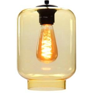 Lampenkap glas geel Vaso 17cm