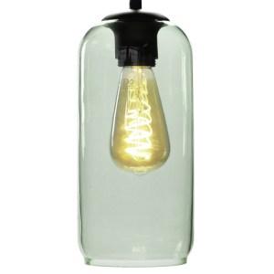 Lampenkap glas groen Jack 12cm