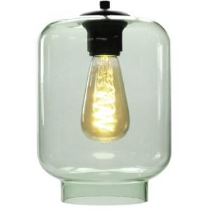 Lampenkap glas groen Vaso 17cm