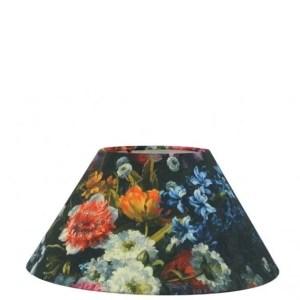 Lampenkap bloemenprint Ruben schuin 40x18x20cm