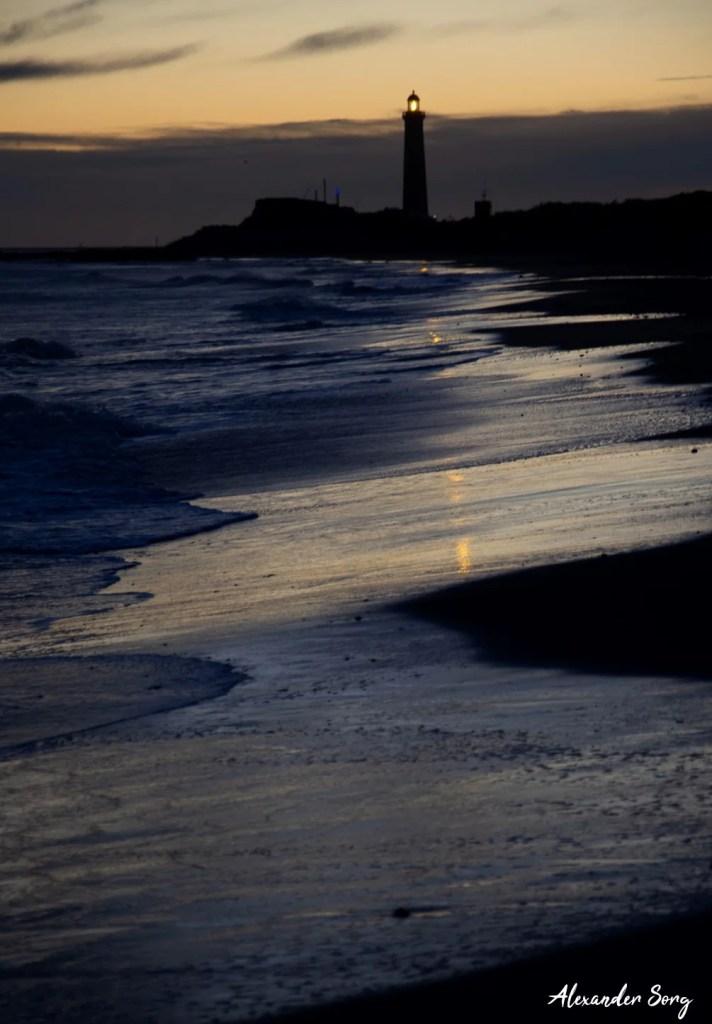 Dänemark Leuchtturm Skagen Grenen Ostsee