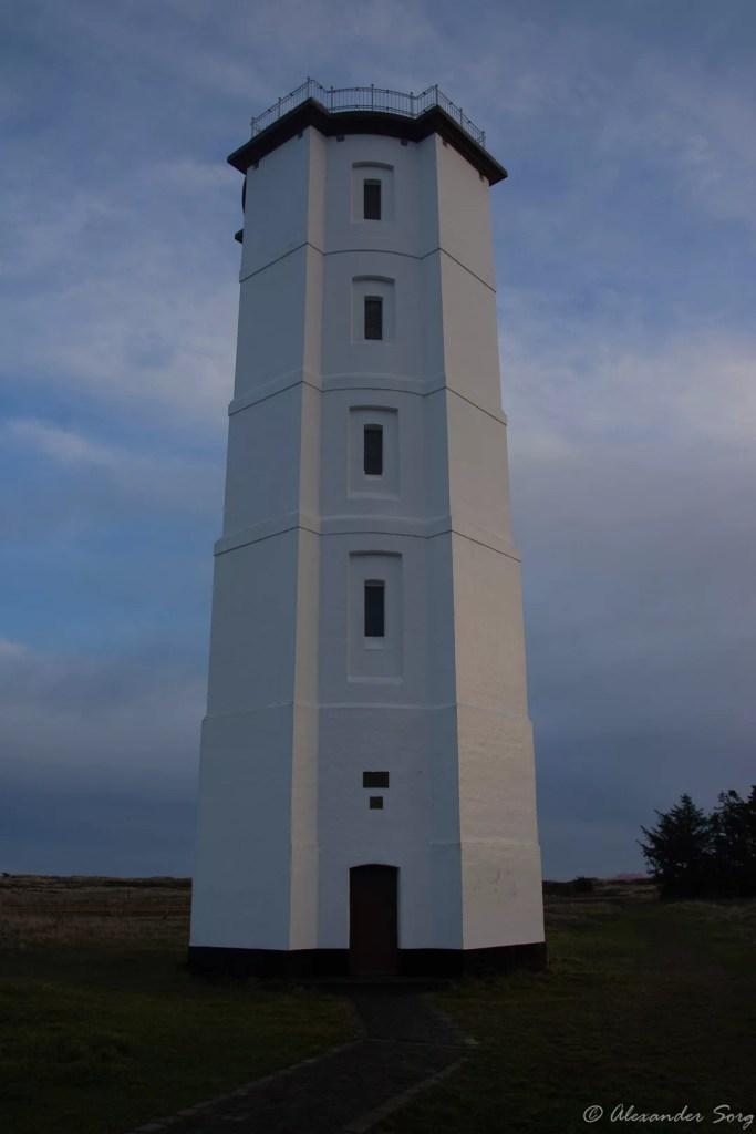 Dänemark Skagen weißer Leuchtturm