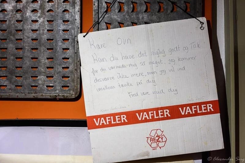 Keksfabrik Hjørring Brief