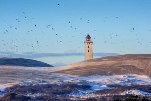 Winter am Rubjerg Knude in Dänemark