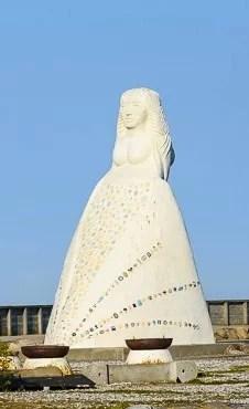 Frau vom Meer Sæby Statue