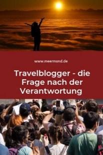 Travelblogger Verantwortung