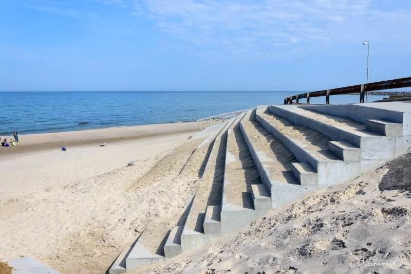 Treppe Hirtshals Strand