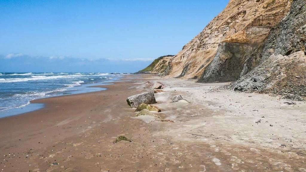 Strand Steilküste Rubjerg Knude