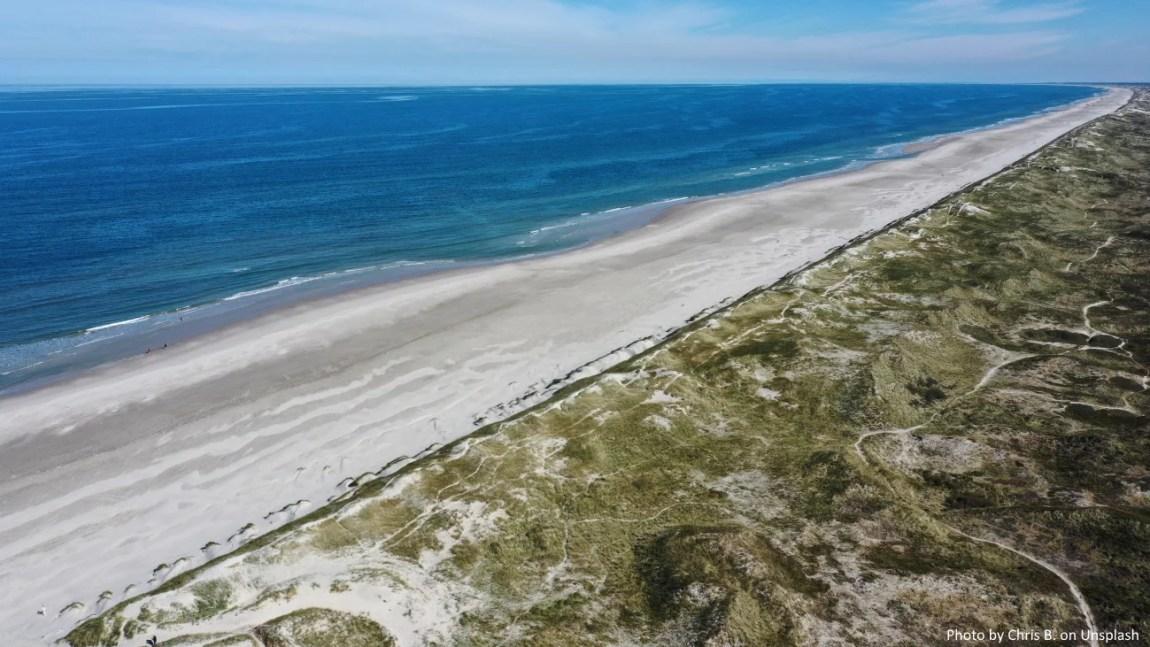 Nordjütland Luftbild Küste