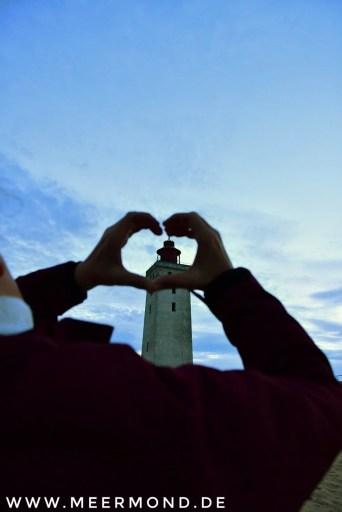 Rubjerg Knude Fyr mit Herz