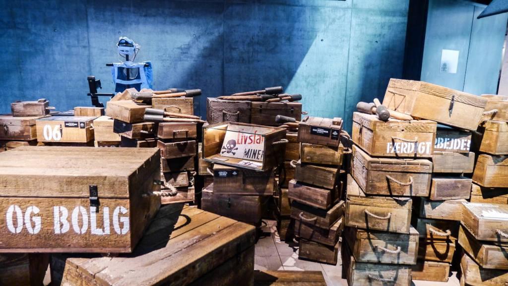 Bunkermuseum Blåvand mit Sonderausstellung