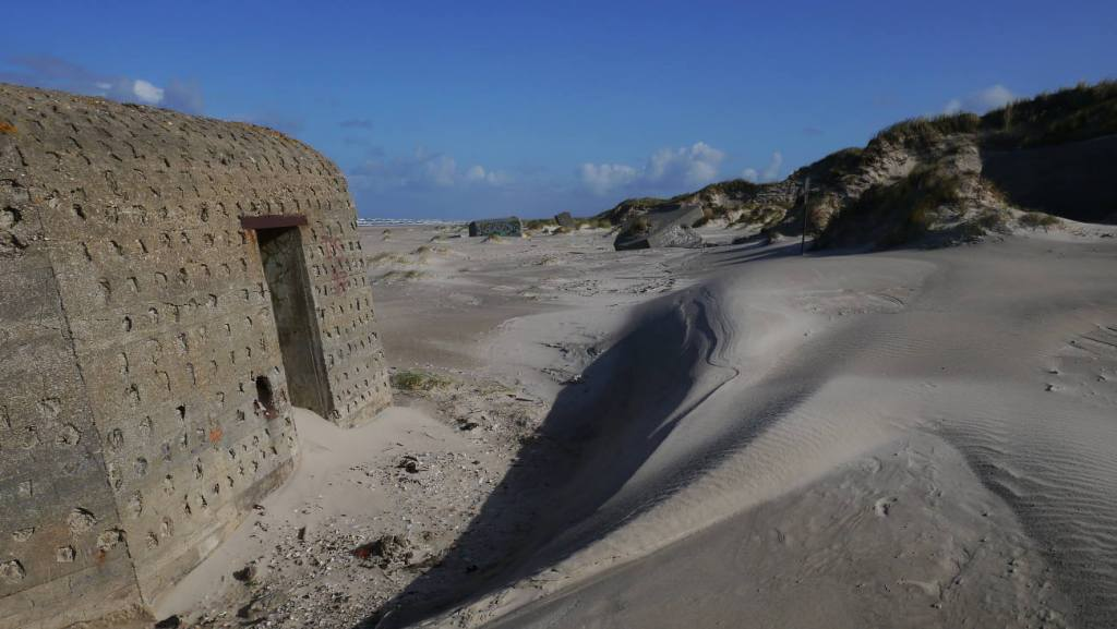 Bunker bei Blåvand Strand