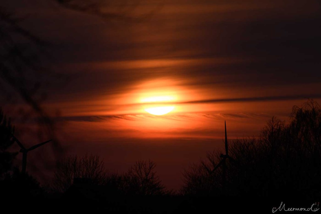 Sonnenuntergang, Dänemark