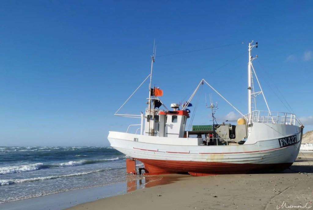 Fischerboot von Løkken