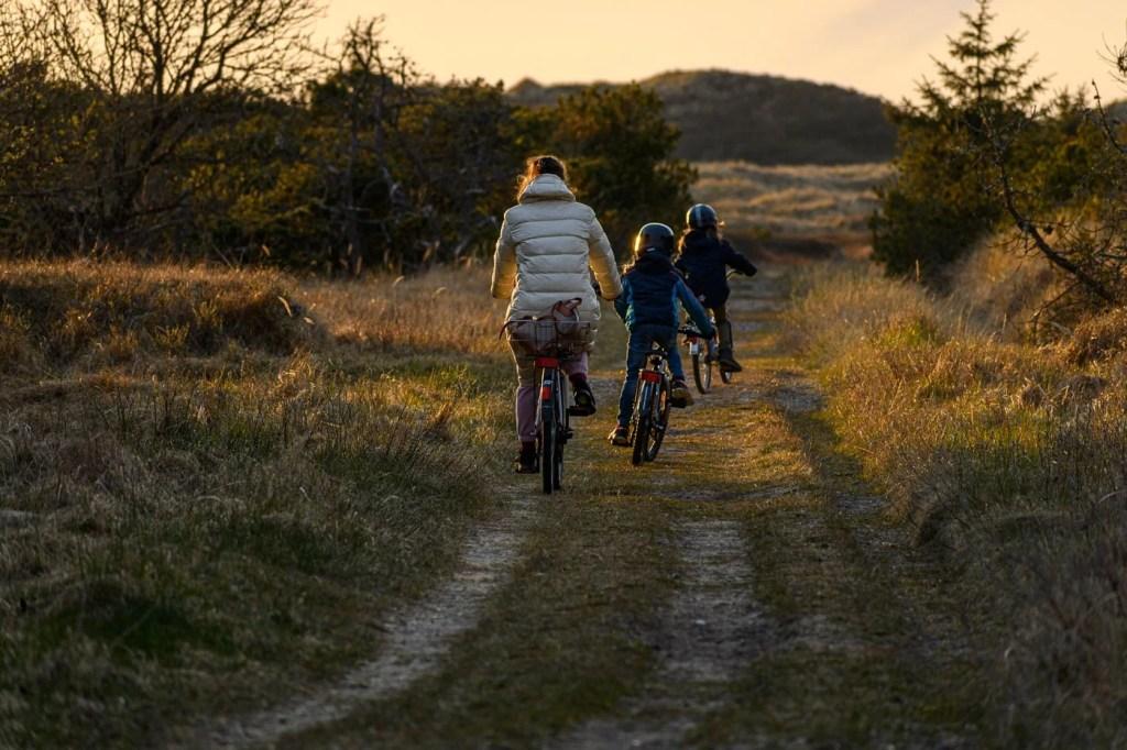 Frühling in Dänemark - Fahrradfahren zu den Dünen