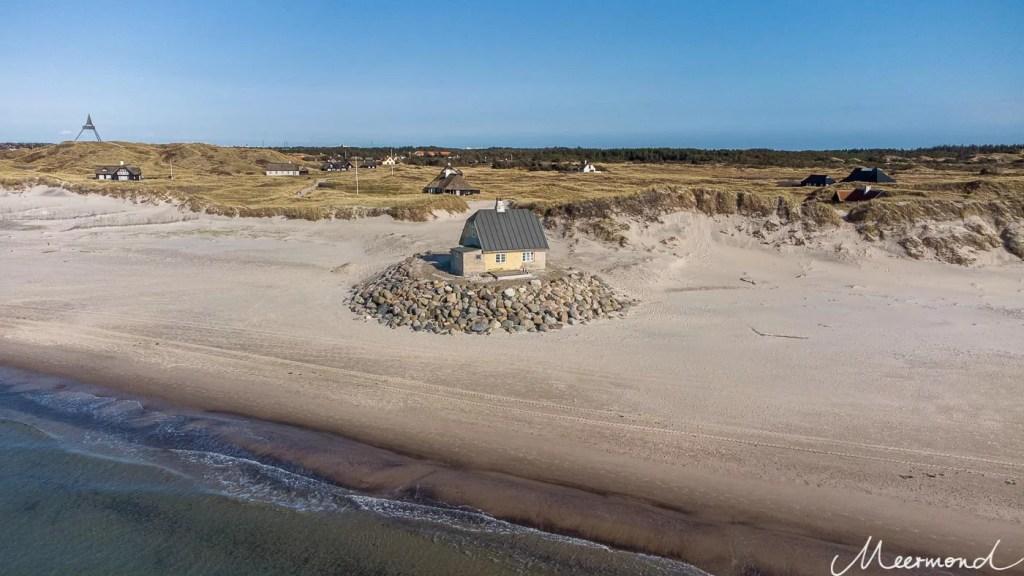 Fellen Skagen Haus am Strand Dänemark