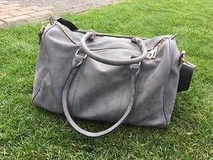 Zo blij met mijn nieuwe tas van Miss Lulu