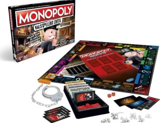 Valsspelen bij Monopoly? Dat moet juist!