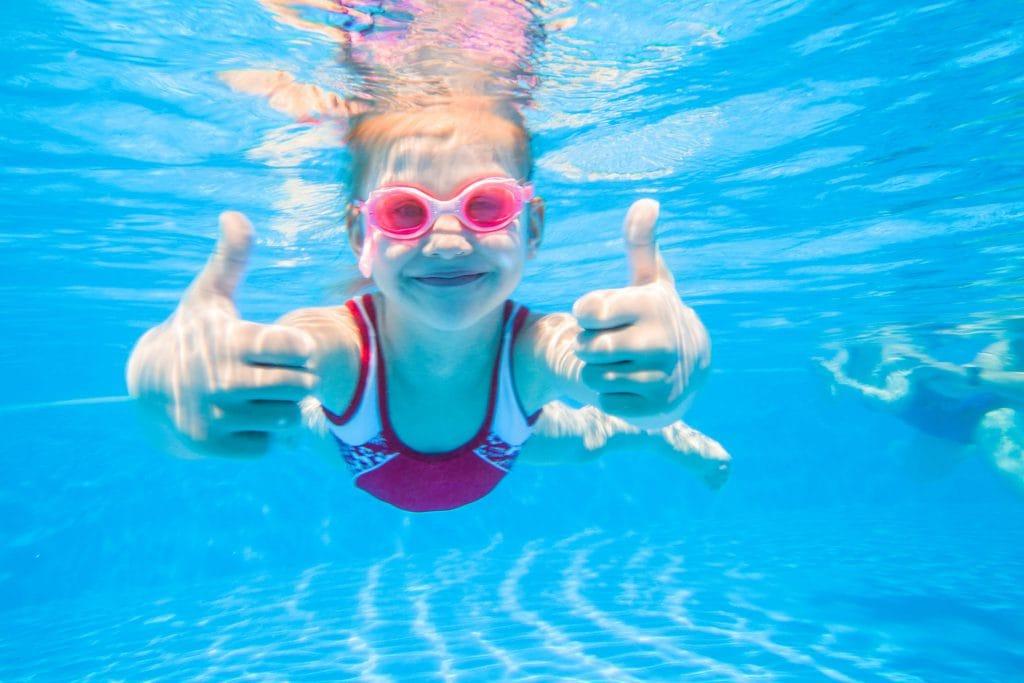 De laatste vakantie voorbereidingen, oftewel zwemkleding