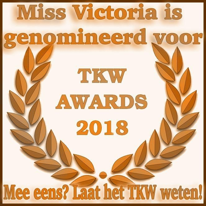 Miss Victoria is genomineerd voor Beste Dominant 2018 - Stem nu!