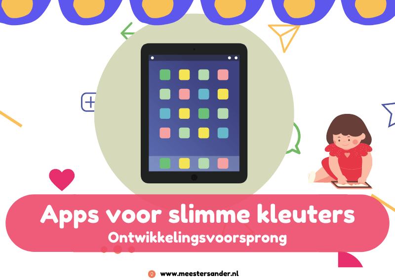 Apps voor kleuters met een ontwikkelingsvoorsprong