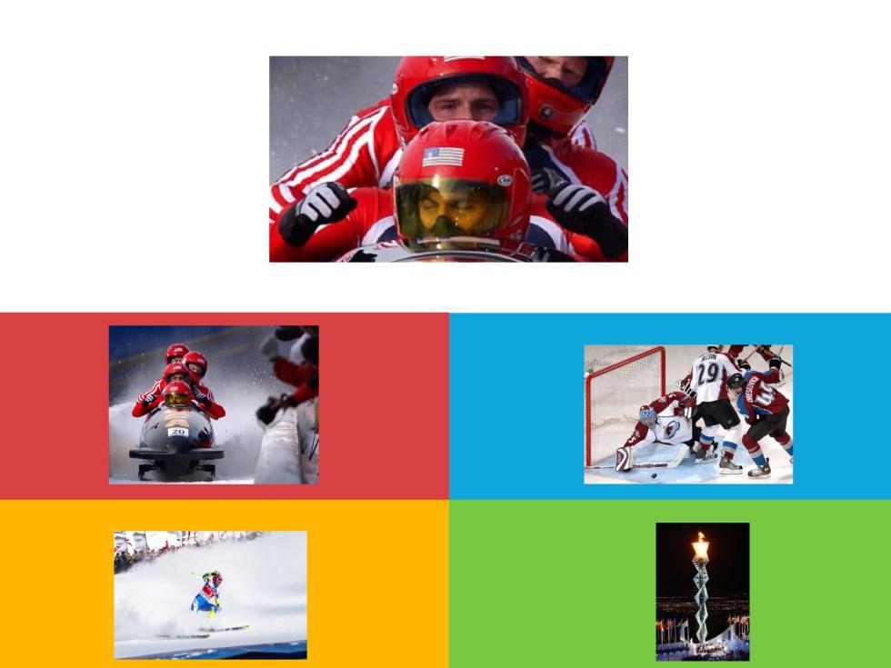Kahoot olympische spelen herken het deel van de sportfoto
