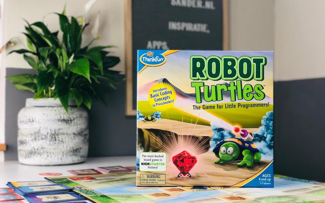 Leren programmeren met het bordspel Robot Turtles van Thinkfun – Nederlandstalige instructies