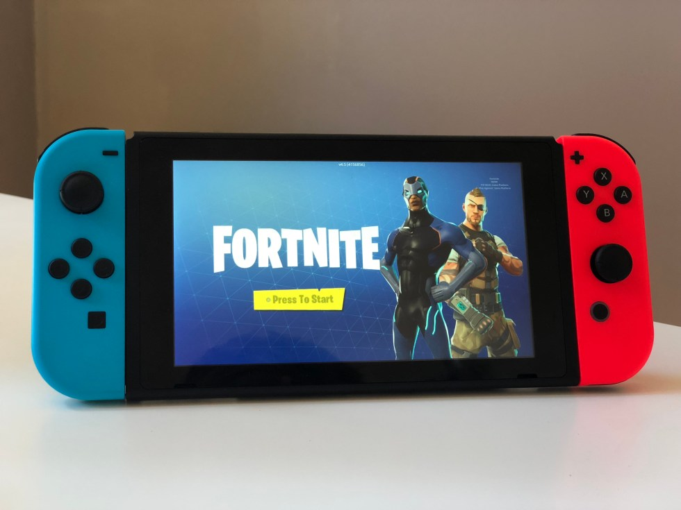 Fortnite Nintendo Switch Meester Sander