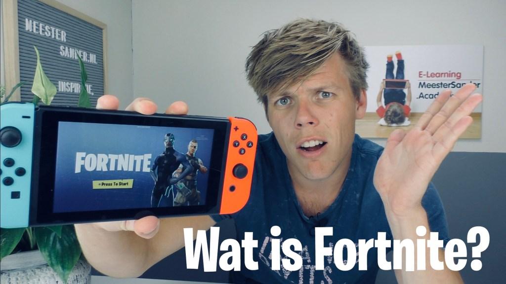 Wat is fortnite? Een uitleg door meester Sander