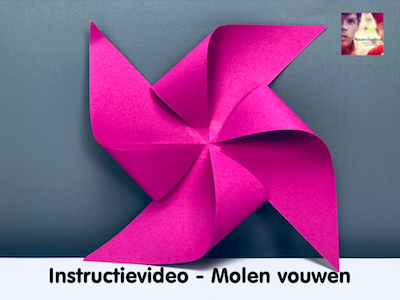 instructievideo Molen vouwen