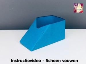 instructievideo Schoen vouwen