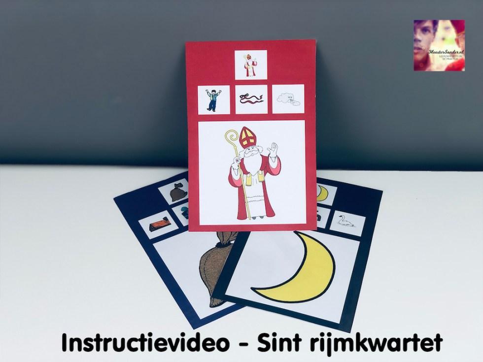 instructievideo Sint rijmkwartet