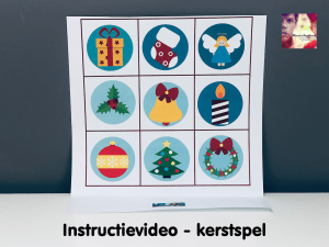 instructievideo kerstspel