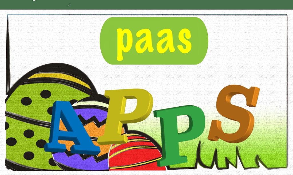 App thema Pasen kleuters